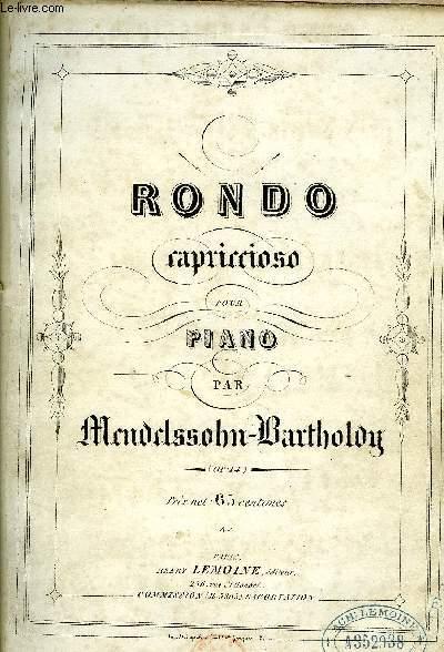 RONDO CAPRICCIOSO