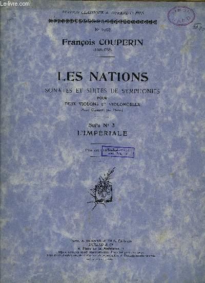 LES NATIONS, SONATES ET SUITES DE SYMPHONIES