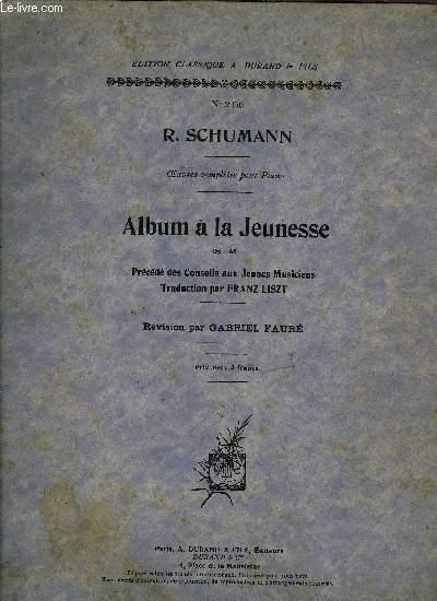 ALBUM DE LA JEUNESSE