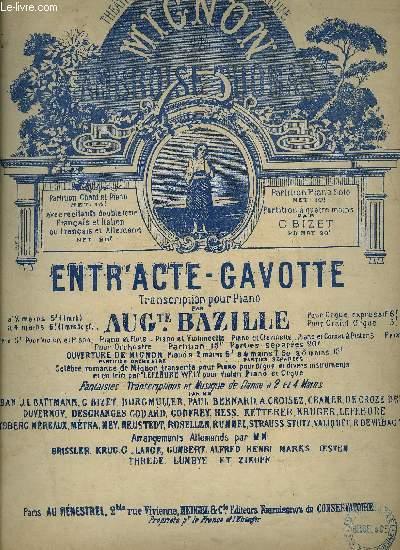 ENTR'ACTE-GAVOTTE