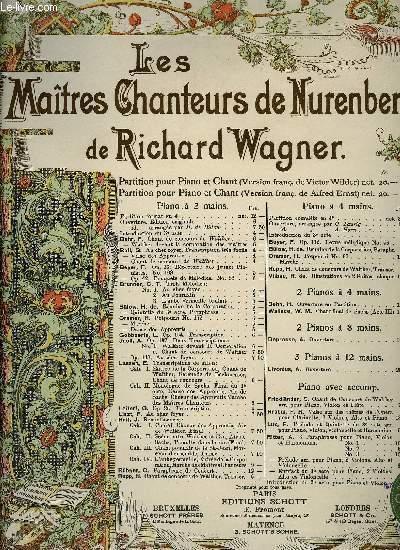 LES MAITRES CHANTEURS DE NUREMBERG