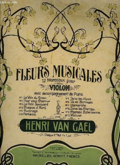 FLEURS MUSICALES