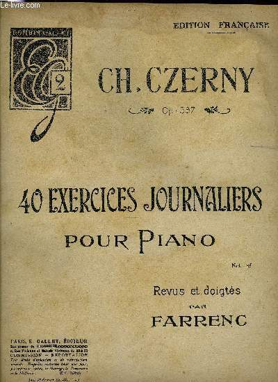 40 EXERCICES JOURNALIERS