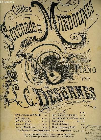 CELEBRE SERANDE DE MANDOLINE