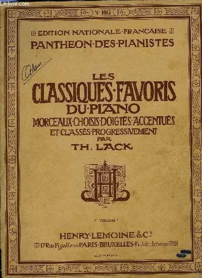 LES CLASSIQUES DU PIANO 1ER VOLUME A