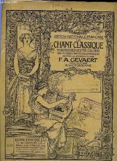 LE CHANT CLASSIQUE N°160