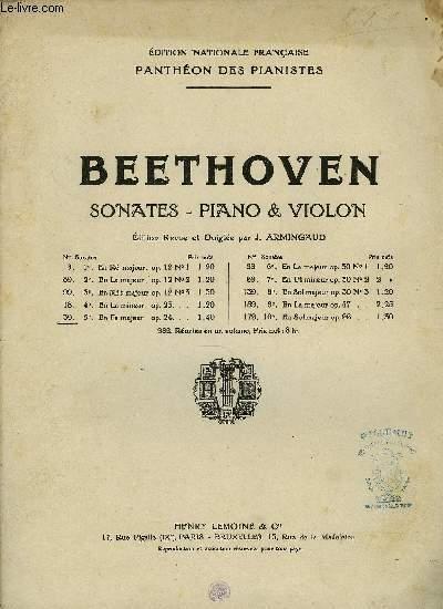5EME SONATE POUR PIANO ET VIOLON