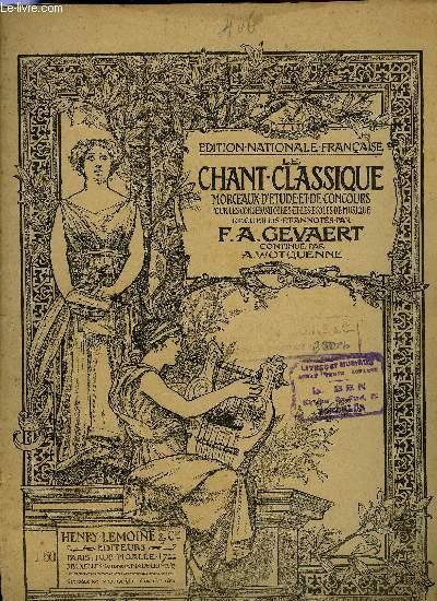 LE CHANT  CLASSIQUE N°406