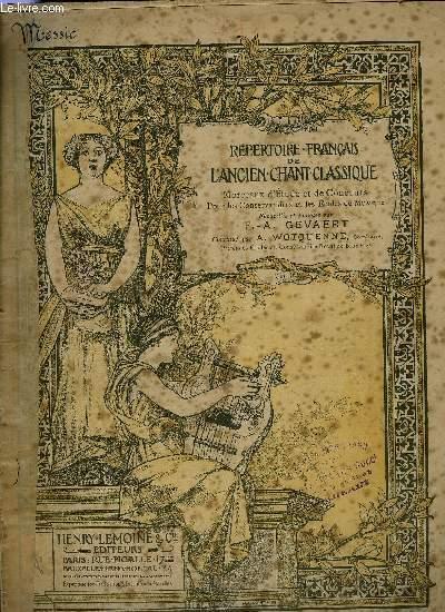 REPERTOIRE FRANCAIS DE L'ANCIEN CHANT CLASSIQUE N°251