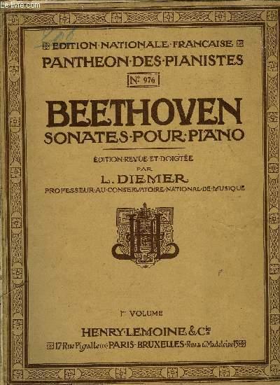 SONATES POUR PIANO 1ER VOLUME
