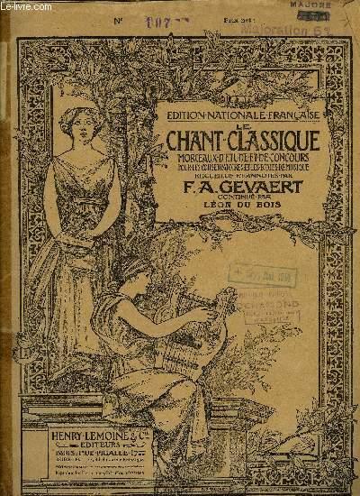 LE CHANT CLASSIQUE N°555