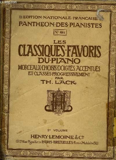 LES CLASSIQUES FAVORIS DU PIANO 2EME VOLUME