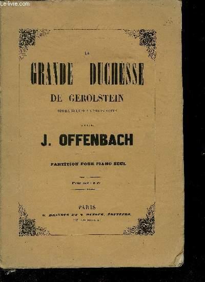LE GRANDE DUCHESSE DE GEROLSTEIN