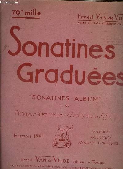 SONATINES GRADUEES