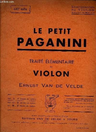 LE PETIT PAGAGNINI VOL. I