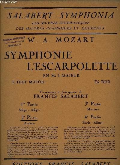 SYMPHONIE L'ESCARPOLETTE