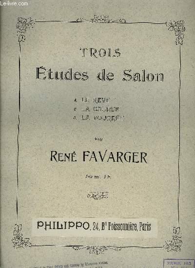 TROIS ETUDES DE SALON
