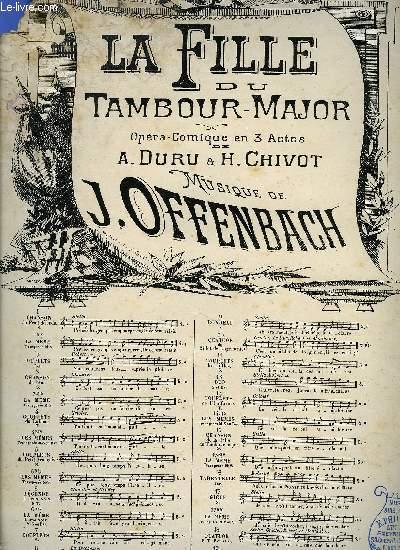 LA FILLE DU TAMBOUR-MAJOR