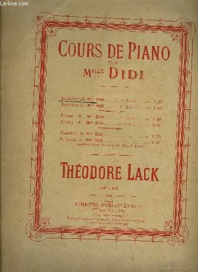 COURS DE PIANO DE MELLE DIDI