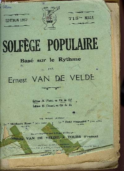 SOLFEGE POPULAIRE