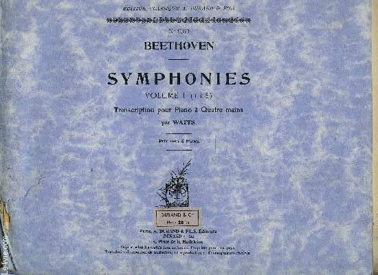 SYMPHONIES VOLUME I