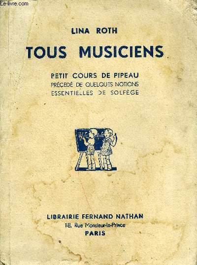 TOUS MUSICIENS