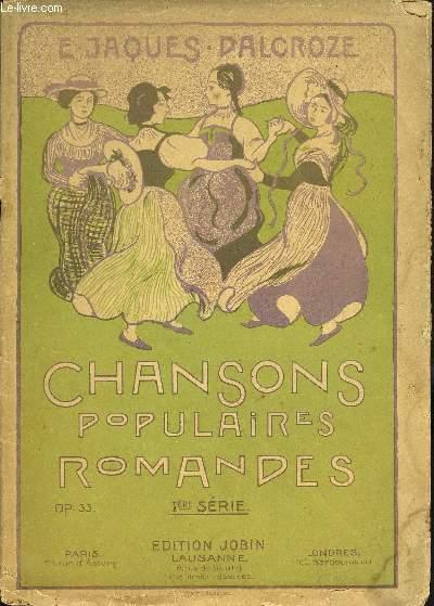 CHANSONS POPULAIRES ROMANDES