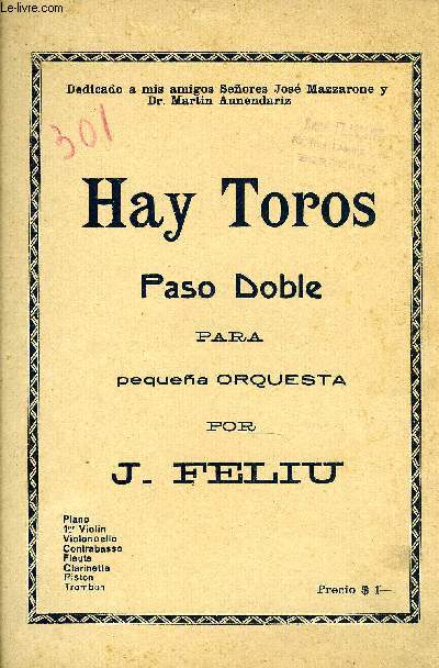 HAY TOROS