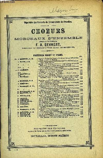 DOUBLE CHOEUR DE COLINETTE A LA COUR