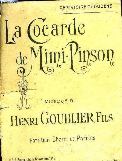 LA COCARDE DE MIMI-PINSON