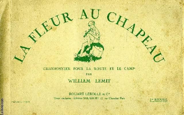 LA FLEUR DU CHAPEAU - 1ER RECUEIL