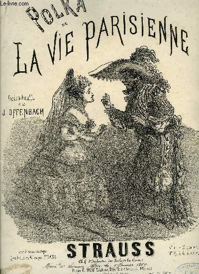 POLKA DE LA VIE PARISIENNE