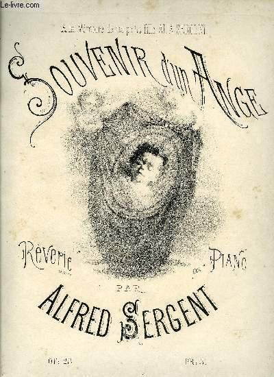 SOUVENIR D'UN ANGE
