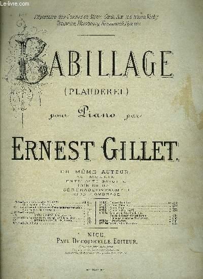 BABILLAGE