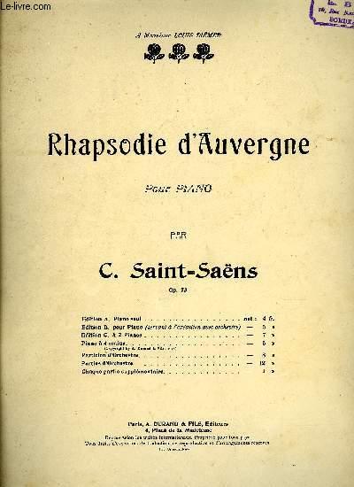 RHAPSODIE D'AUVERGNE