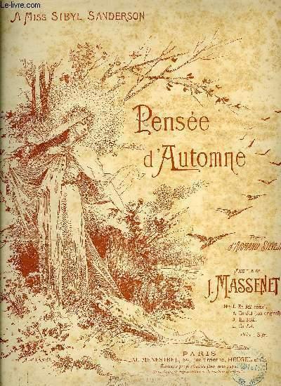 PENSEE D'AUTOMNE