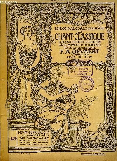 LE CHANT CLASSIQUE N°34 ET N°35