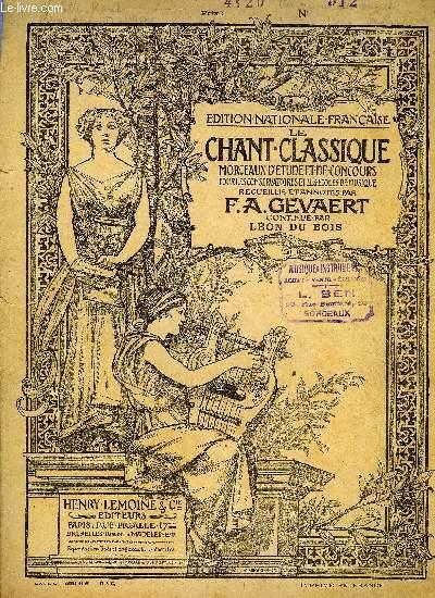 LE CHANT CLASSIQUE N°312