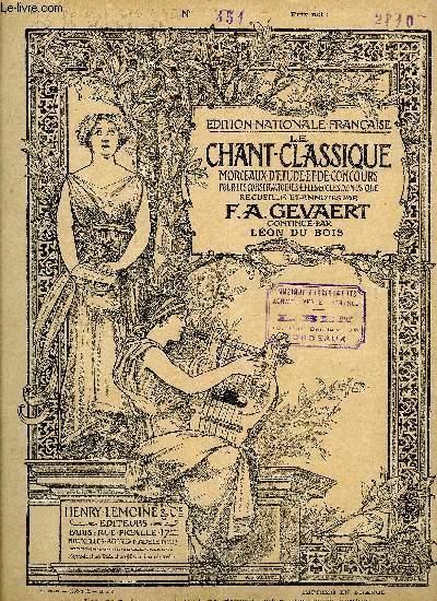 LE CHANT CLASSIQUE N°451