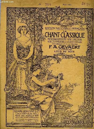 LE CHANT CLASSIQUE N°399