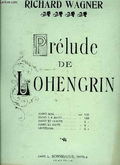 PRELUDE DE LOHENGRIN