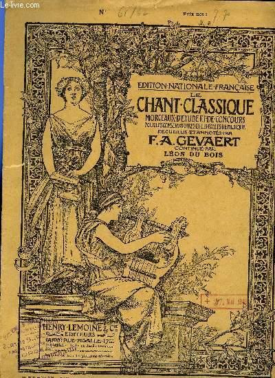 LE CHANT CLASSIQUE N°61 et N°62