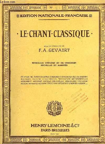 LE CHANT CLASSIQUE N°21