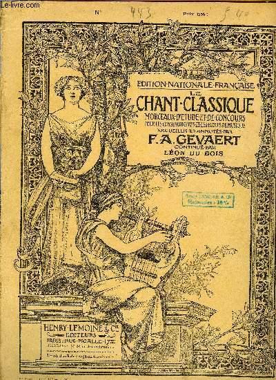 LE CHANT CLASSIQUE N°443