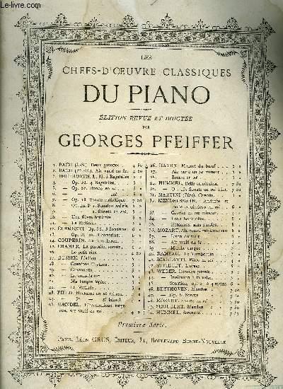 LES CHEFS-D'OEUVRE CLASSIQUES DU PIANO