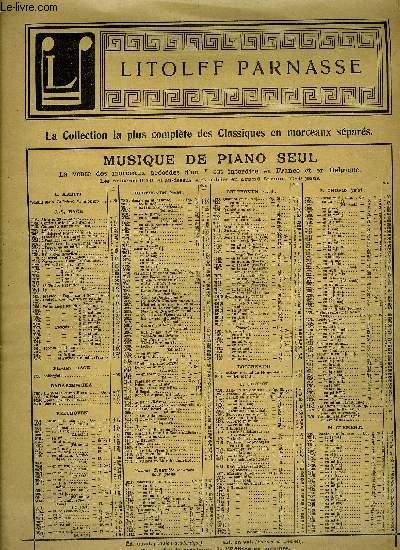 COMPOSITIONS POUR PIANO A QUATRE MAINS