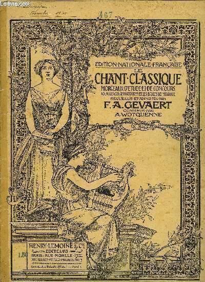 LE CHANT CLASSIQUE N°365
