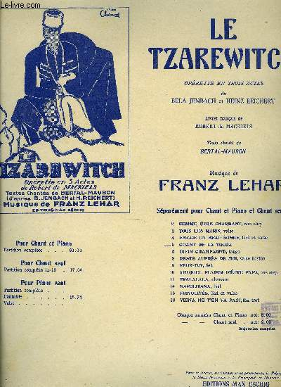 LE TZARWITCH