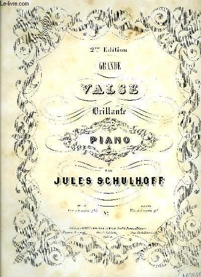 GRANDE VALSE BRILLANTE POUR PIANO