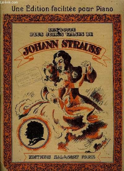 LES DOUZE PLUS JOLIES VALSES DE JOHAN STRAUSS
